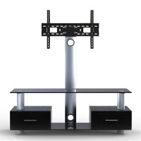 QLK-2: Elegant AV stand with integrated TV mount