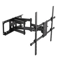 QPA49-686 - Super heavy-duty, Extra-large, articulating Curved & Flat Panel TV Wall Mount