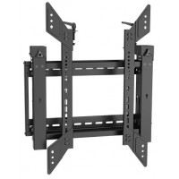 QW03-64T: Commercial Professional Video Wall Mount (Portrait) with pop-out function