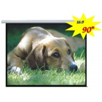 "PSAA-90 - 90"" Electric Projection Screen"