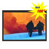 "PSGA-108 - 108"" Fixed Frame Projection Screen"