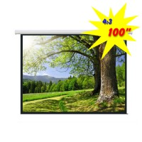 """PSAC-100 - 100"""" Electric Projection Screen"""